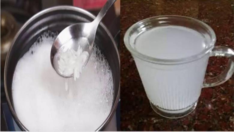 Մի թափեք եփվելուց հետո մնացած բրնձի ջուրը։ Դա շատ օգտակար է Ձեր առողջության համար